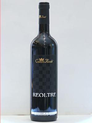 """Reoltre"" Rosso Veronese 2016, I.G.P. Campo Reale, 0,75 l."