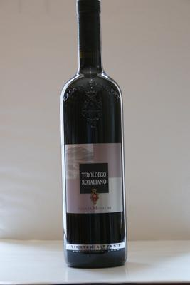 Teroldego Rotaliano 2015, D.O.C. Cantine Monfort. 0,75 L.